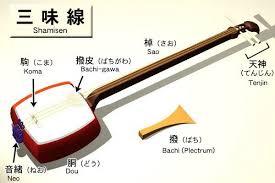 Japanese lute, Shamisen