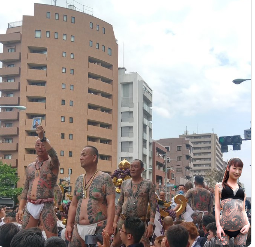 sanja matsuri ( festival ),A Portable Shrine