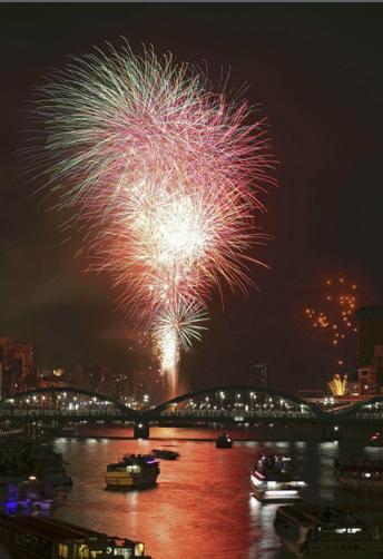 fireworks,Annual Festival