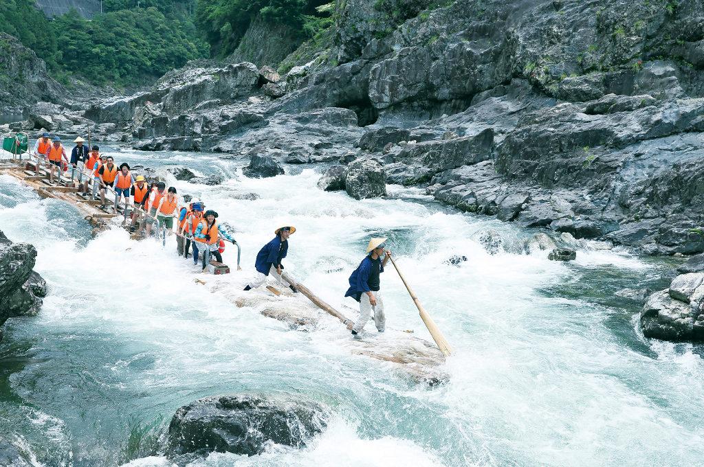 log rafting,Wakayama Prefecture