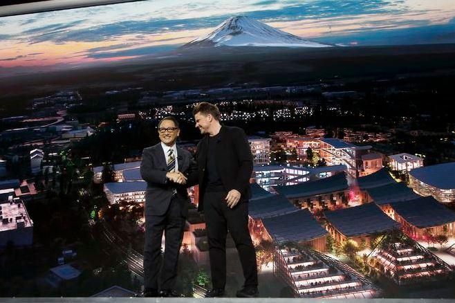City of the Future, Mt.Fuji